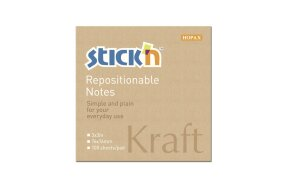 KRAFT NOTES HOPAX 76x76mm